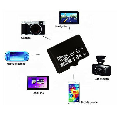 64GB Micro SD Card Class 10 TF Flash Memory Card Mini SDHC SDXC DASHCAM PHONE