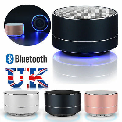 LED Bluetooth Wireless Portable Speaker Mini Super Bass For Samsung iPhone iPad
