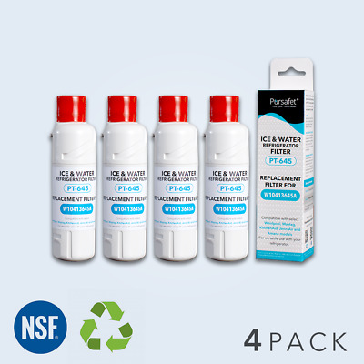 4 Pack Fit NO 2 Water Filter EDR2RXD1 Replacement Kenmore 9082 9903 469903