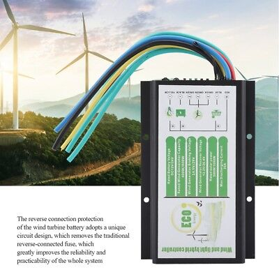 Wind and Solar Waterproof Power Hybrid Charge Controller DC 12V/24V 400W / 800W