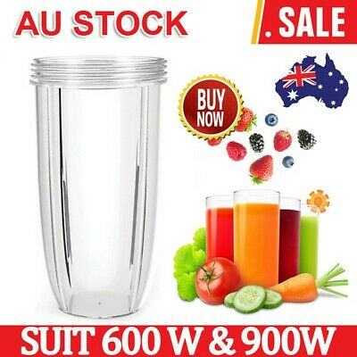1/2pcs NUTRIBULLET COLOSSAL LARGE TALL CUP 32 Oz - Nutri Bullet 600 & 900 Models