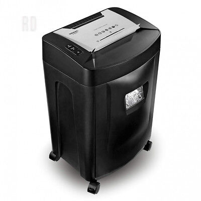 Duronic PS991 Paper Shredder 18 Sheet A4 GDPR Compliant Heavy Duty Cross Cut...