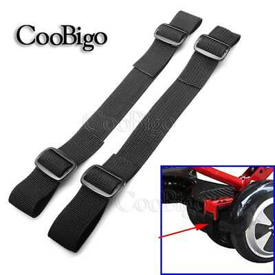 "2X Strong 1"" Hoverboard Kart Accessories HoverKart Replacement Straps Adjustable"