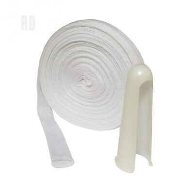 2 Metres Of Sterogauze Tubular Finger Wound Dressing Bandage & Applicator...