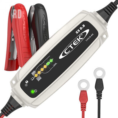 CTEK XS 0.8 Automatic Battery Maintainer (For long-term maintainence of...