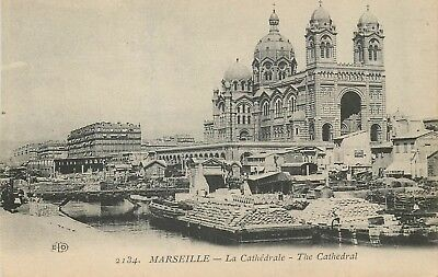 Cp Marseille Cathedrale Eld