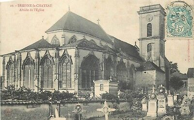 Cp Brienne-Le-Chateau Abside Eglise