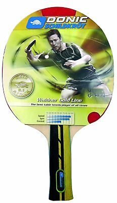 SCHILDKROT Tennis Ping Table WALDNER 900 Racket Bat DONIC shdtCxQBr