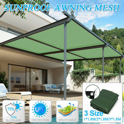 1.8M Sun Shade Sail Balcony Bonsai Awning Canopy Sunproof Netting Anti Uv Mesh