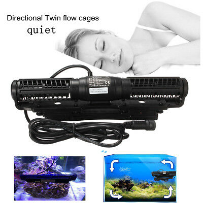 Symbol Of The Brand Jebao/jecod Scp-120 Cross Flow Pump Wavemaker With Controller Updated Cp40 Long Performance Life Fish & Aquariums