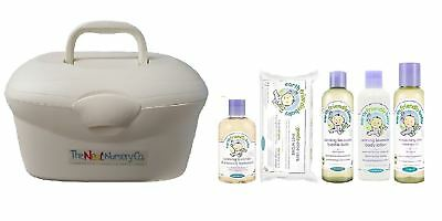 The Neat Nursery Pre Filled Baby Box Earth Friendly Baby Bath Set Pearl 6 Items