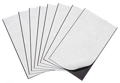"100 Self Adhesive Flexible Magnetic Sheets Wallet size, USA 2"" x 3""- FREE ship"