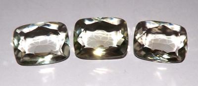 36.35 cts Prasiolite Green Amethyst  100% Natural Gemstone Lot #hga144