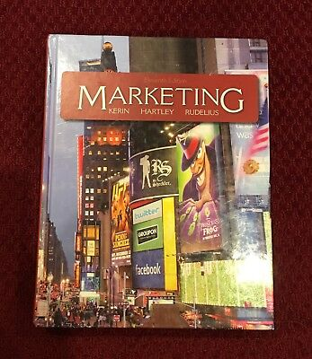 Marketing by Kerin, Hartley, and Rudelius (Eleventh Edition) - Hardcover