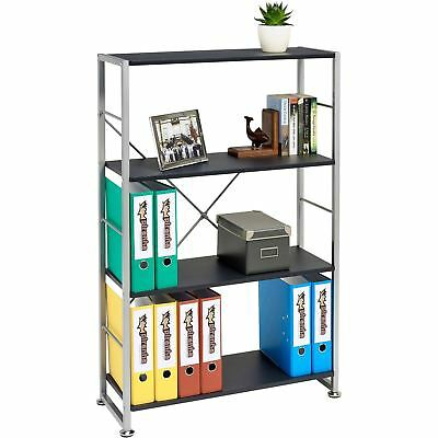 Bookcase with 4 Shelves Storage Furniture for Home Office - Piranha Ballan PC12g