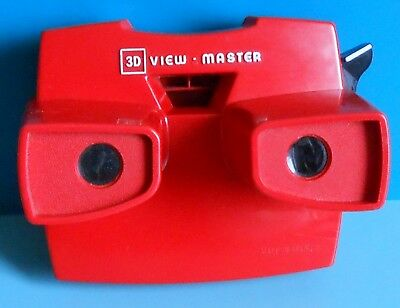 View Master Viewer ~ Model J ~ Red ~ Viewmaster