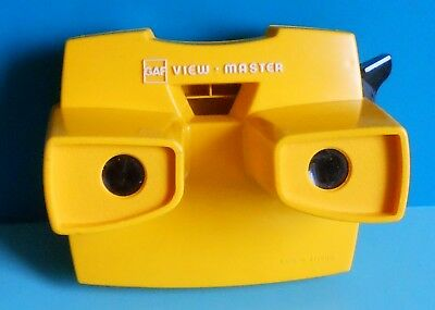 View Master Viewer ~ Model J ~ Yellow ~ Viewmaster
