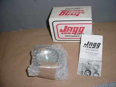 Harley Davidson Jagg Oil Cooler Adapter J4600