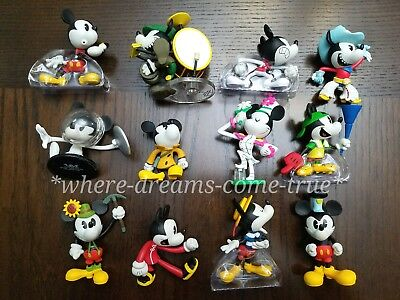 Vinylmation Mickey Mouse Cartoon Series - Mickey Mania set of 12 w/Chaser (NEW)