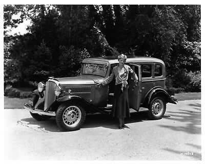 1932 Hudson Terraplane ORIGINAL Photo Negative Amelia Earhart nad6167