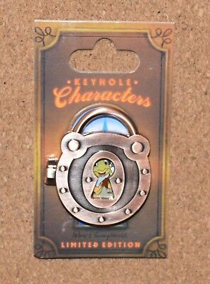 Pin 102198 WDW - Keyhole Collection - Jiminy Cricket - Limited Edition of 1,000