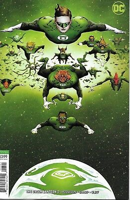 Green Lantern Comic Issue 3 Limited Variant Modern Age First Print 2019 Morrison