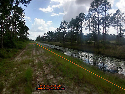Waterfront Lehigh Acres Florida Gulf Coast Canal Residential Land Wholesale