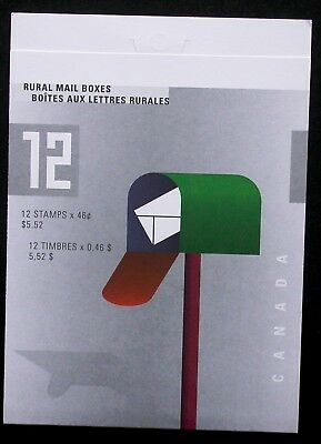 BK226a ~ Face $5.52 ~ Rural Mail ~ Pane 1852a ~ Canada Booklet Stamps  BK226 a