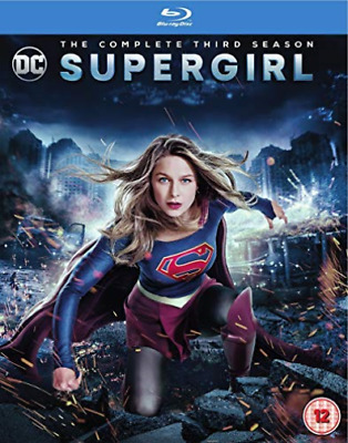 Supergirl S3 BLU-RAY NEW