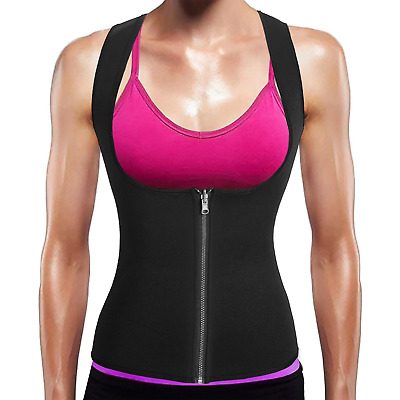 BURUNST Waist Trainer Vest for Women - Neoprene Sauna Sweat Body Shaper with...