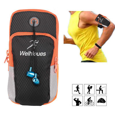 1617 EU Multifunctional Outdoor Sports Running Armband Arm Cell Phone Bag...