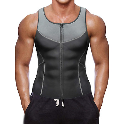 1e864865a9096 HOT MENS SLIMMING Shirt Body Shaper Vest Compression Tank Top Corset ...