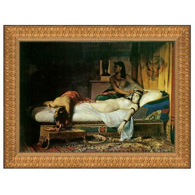 Design Toscano The Death of Cleopatra, 1874: Canvas Replica Painting: Large