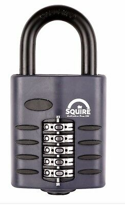 Squire Combination Padlock 50mm (CP50) All Weather Padlock