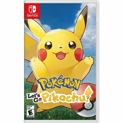 Pokemon Let's Go Pikachu! per Nintendo Switch Nuovo