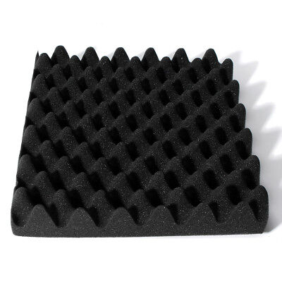 """1x Acoustic Soundproofing Convoluted Egg Crate Panel Studio Foam 2.5""""X 12"""" X 12"""""""