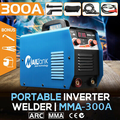 300A Welder IGBT Inverter Welding Machine Rod Stick ARC MMA-300 Gun Mask