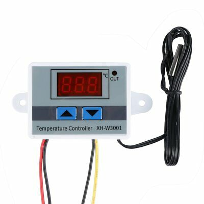 XH-W3001 DC10A 12V All-Purpose Digital LED Temperature Controller Thermostat UP