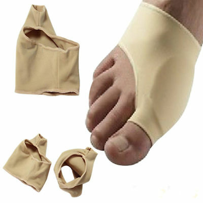 2PCs Padded BUNION PROTECTOR Valgus Footful Pain Relief Brace Sleeves Gel Hallux