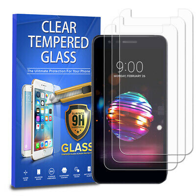Tempered Glass Screen Protector 3-Pack For LG Phoenix Plus