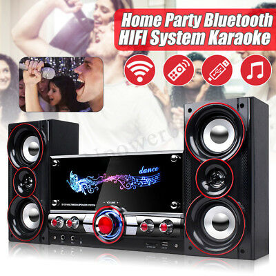 Wireless Bluetooth Speakers Professional Karaoke System Home Theater Subwoofer