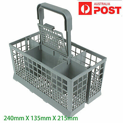 Universal Dishwasher Cutlery Basket Suits Many Brands 240mm X 135mm X 215mm Cage