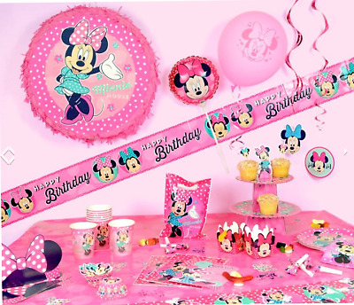 Minnie Mouse Deluxe Party Box - Set of 12