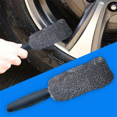 Car Brush Dust Remove Microfiber Washing Tool Tire Wheel Cleaning Car-Styling