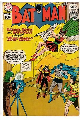 BATMAN #139, 1ST APP ORIGINAL BATGIRL, DC Comics (1961)