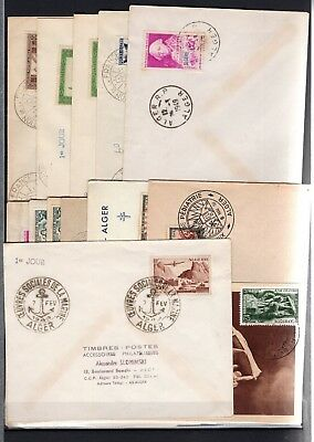 A97929/ Algerie Francaise French Algeria / Lot 25 Covers 1936 – 1955