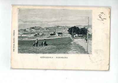 SPINAZZOLA - Panorama  Vg. 1902 F.P.