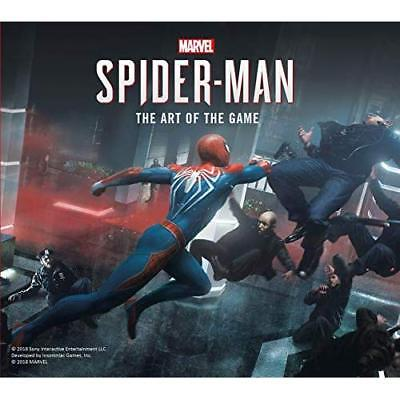 Marvel's Spider-Man: The Art of the Game - Hardback NEW Davies, Paul 07/09/2018