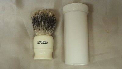 Geo F Trumper Pure Badger Shaving Brush In Tube