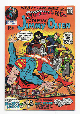 Superman's Pal Jimmy Olsen No. 133 - 1st Morgan Edge - Kirby - DC - 1970